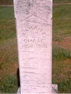 CHASE, SARAH E - Athens County, Ohio | SARAH E CHASE - Ohio Gravestone Photos