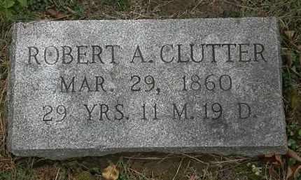 CLUTTER, ROBERT A. - Athens County, Ohio | ROBERT A. CLUTTER - Ohio Gravestone Photos
