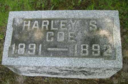 COE, HARLEY S. - Athens County, Ohio | HARLEY S. COE - Ohio Gravestone Photos