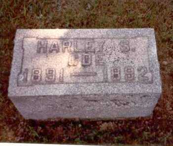 COE, HARLEY S. - Athens County, Ohio | HARLEY S. COE - Ohio Gravestone Photos