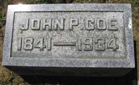 COE, JOHN P. - Athens County, Ohio | JOHN P. COE - Ohio Gravestone Photos