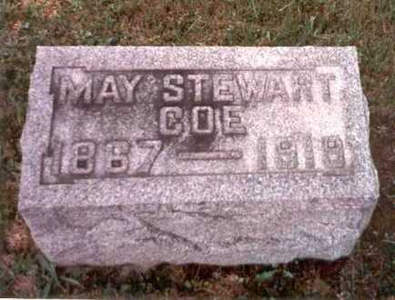 STEWART COE, MAY - Athens County, Ohio | MAY STEWART COE - Ohio Gravestone Photos