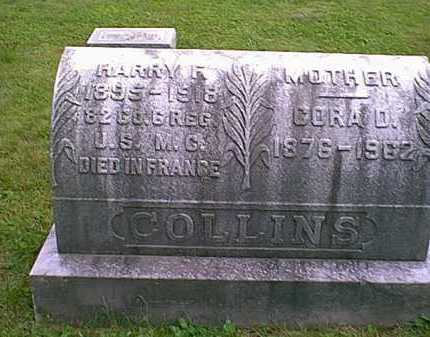 COLLINS, HARRY F - Athens County, Ohio | HARRY F COLLINS - Ohio Gravestone Photos