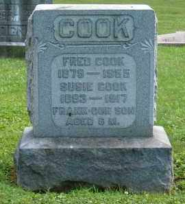 COOK, FRANK - Athens County, Ohio | FRANK COOK - Ohio Gravestone Photos