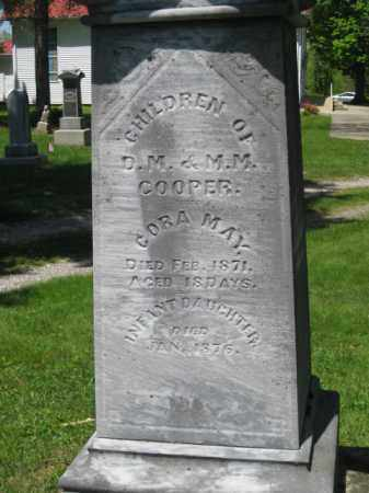 COOPER, CORA MAY - Athens County, Ohio | CORA MAY COOPER - Ohio Gravestone Photos