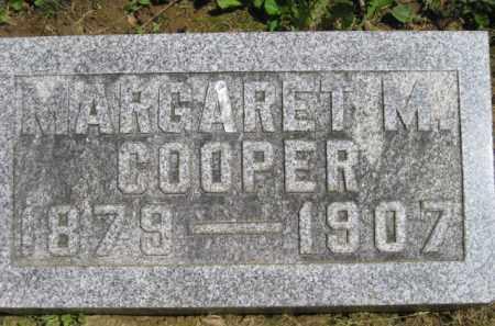 COOPER, MARGARET M. - Athens County, Ohio | MARGARET M. COOPER - Ohio Gravestone Photos