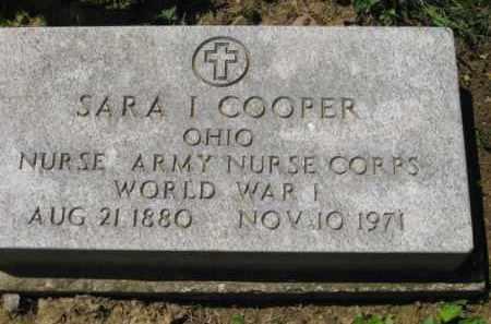 COOPER, SARA I. - Athens County, Ohio | SARA I. COOPER - Ohio Gravestone Photos