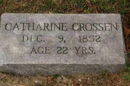 CROSSEN, CATHARINE - Athens County, Ohio | CATHARINE CROSSEN - Ohio Gravestone Photos