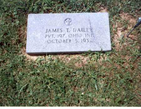 DAILEY, JAMES T. - Athens County, Ohio | JAMES T. DAILEY - Ohio Gravestone Photos