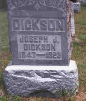 DICKSON, JOSEPH J. - Athens County, Ohio | JOSEPH J. DICKSON - Ohio Gravestone Photos