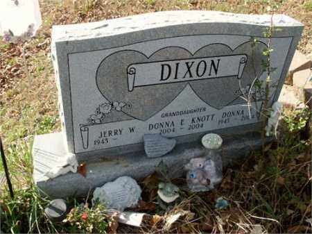 GIFFIN DIXON, DONNA E. - Athens County, Ohio | DONNA E. GIFFIN DIXON - Ohio Gravestone Photos