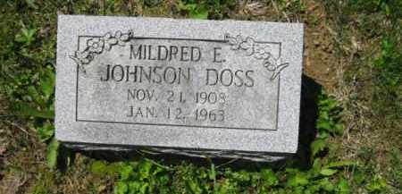 DOSS, MILDRED E. - Athens County, Ohio | MILDRED E. DOSS - Ohio Gravestone Photos