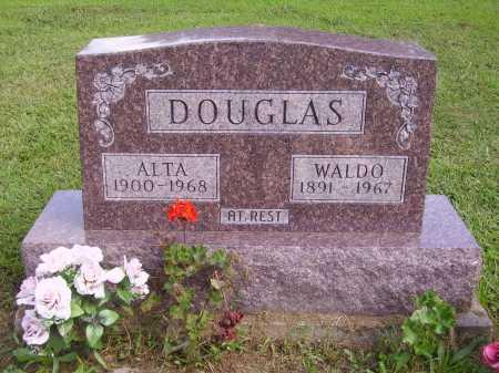DOUGLAS, WALDO - Athens County, Ohio | WALDO DOUGLAS - Ohio Gravestone Photos
