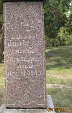DOUGLAS, ELIJAH H. - Athens County, Ohio | ELIJAH H. DOUGLAS - Ohio Gravestone Photos