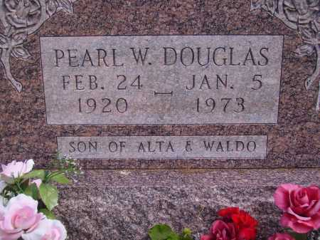DOUGLAS, PEARL W. - CLOSE VIEW - Athens County, Ohio | PEARL W. - CLOSE VIEW DOUGLAS - Ohio Gravestone Photos