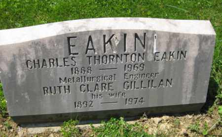 EAKIN, CHARLES THORTON - Athens County, Ohio | CHARLES THORTON EAKIN - Ohio Gravestone Photos