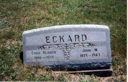 ECKARD, JOHN WESLEY - Athens County, Ohio | JOHN WESLEY ECKARD - Ohio Gravestone Photos