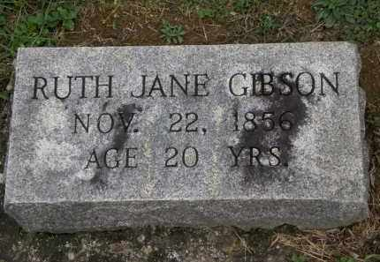 GIBSON, RUTH JANE - Athens County, Ohio | RUTH JANE GIBSON - Ohio Gravestone Photos