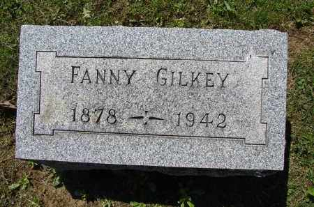 GILKEY, FANNY - Athens County, Ohio | FANNY GILKEY - Ohio Gravestone Photos