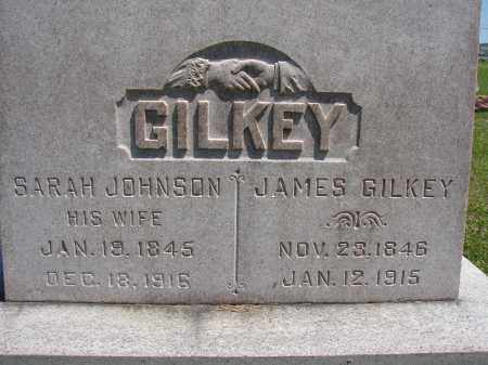 JOHNSON GILKEY, SARAH - Athens County, Ohio | SARAH JOHNSON GILKEY - Ohio Gravestone Photos