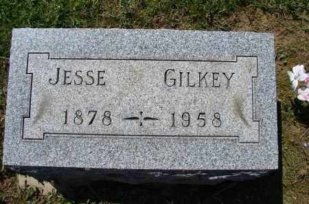 GILKEY, JESSE - Athens County, Ohio | JESSE GILKEY - Ohio Gravestone Photos