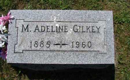 GILKEY, M ADELINE - Athens County, Ohio | M ADELINE GILKEY - Ohio Gravestone Photos