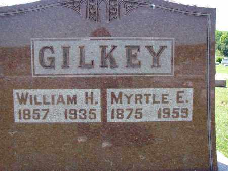 GILKEY, WILLIAM H - Athens County, Ohio | WILLIAM H GILKEY - Ohio Gravestone Photos