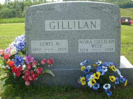 WISE, NORA GILLILAN - Athens County, Ohio | NORA GILLILAN WISE - Ohio Gravestone Photos