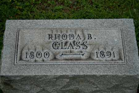 GLASS, RHODA B - Athens County, Ohio | RHODA B GLASS - Ohio Gravestone Photos