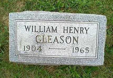 GLEASON, WILLIAM HENRY - Athens County, Ohio   WILLIAM HENRY GLEASON - Ohio Gravestone Photos