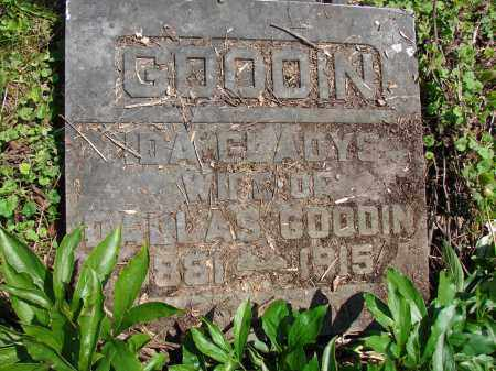 GOODIN, IDA GLADYS - Athens County, Ohio | IDA GLADYS GOODIN - Ohio Gravestone Photos