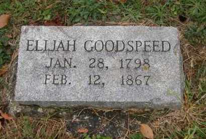 GOODSPEED, ELIJAH - Athens County, Ohio | ELIJAH GOODSPEED - Ohio Gravestone Photos