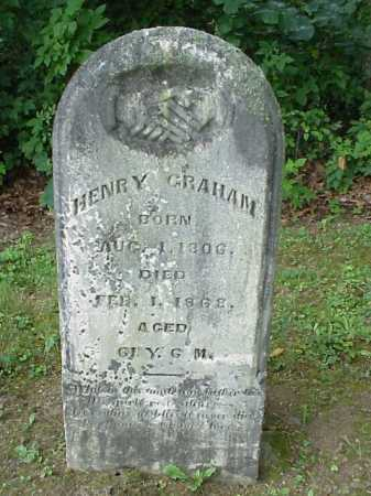 GRAHAM, HENRY - Athens County, Ohio | HENRY GRAHAM - Ohio Gravestone Photos