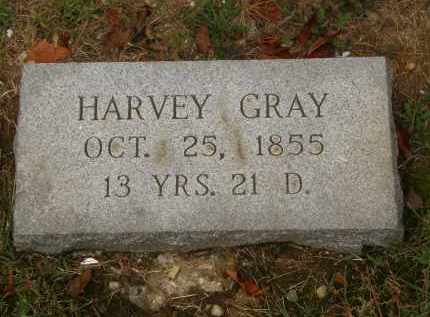 GRAY, HARVEY - Athens County, Ohio | HARVEY GRAY - Ohio Gravestone Photos