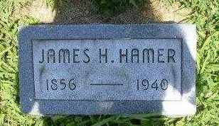 HAMER, JAMES H - Athens County, Ohio | JAMES H HAMER - Ohio Gravestone Photos