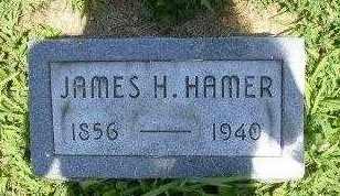 HAMER, JAMES H - Athens County, Ohio | JAMES H HAMER - Ohio Gravestone Photos