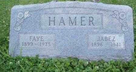 HAMER, NORA FAYE - Athens County, Ohio | NORA FAYE HAMER - Ohio Gravestone Photos