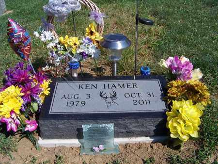 HAMER, KEN - Athens County, Ohio | KEN HAMER - Ohio Gravestone Photos