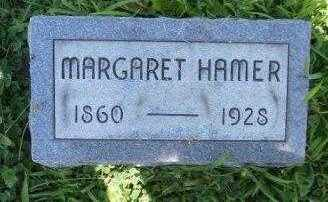 HAMER, MARGARET JANE - Athens County, Ohio | MARGARET JANE HAMER - Ohio Gravestone Photos