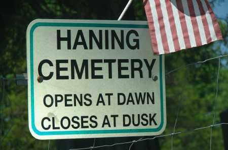 CEMETERY, HANING - Athens County, Ohio | HANING CEMETERY - Ohio Gravestone Photos