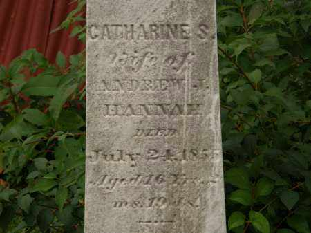 HANNAH, CATHARINE S. - Athens County, Ohio | CATHARINE S. HANNAH - Ohio Gravestone Photos
