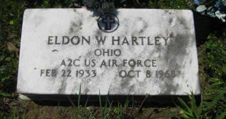HARTLEY, ELDON W. - Athens County, Ohio | ELDON W. HARTLEY - Ohio Gravestone Photos