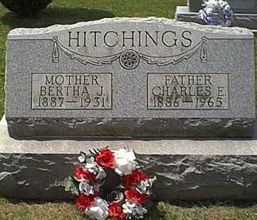 MCCAULEY HITCHINGS, BERTHA J. - Athens County, Ohio | BERTHA J. MCCAULEY HITCHINGS - Ohio Gravestone Photos