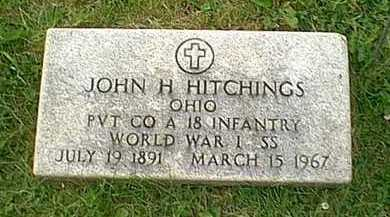 HITCHINGS, JOHN HENRY - Athens County, Ohio | JOHN HENRY HITCHINGS - Ohio Gravestone Photos
