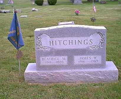 HITCHINGS, BEATRICE M. - Athens County, Ohio | BEATRICE M. HITCHINGS - Ohio Gravestone Photos