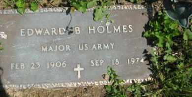 HOLMES, EDWARD B. - Athens County, Ohio | EDWARD B. HOLMES - Ohio Gravestone Photos