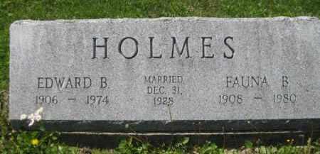 HOLMES, FAUNA B. - Athens County, Ohio | FAUNA B. HOLMES - Ohio Gravestone Photos