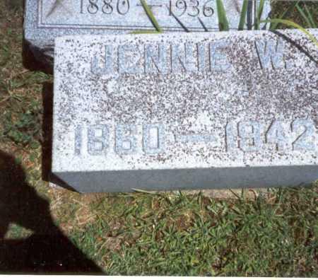 HOLMES, JENNIE - Athens County, Ohio | JENNIE HOLMES - Ohio Gravestone Photos
