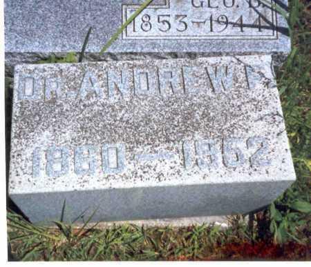 HOLMES, M.D., ANDREW F. - Athens County, Ohio | ANDREW F. HOLMES, M.D. - Ohio Gravestone Photos