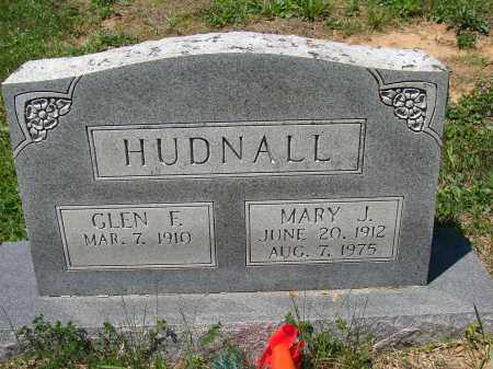 HUDNALL, MARY J - Athens County, Ohio | MARY J HUDNALL - Ohio Gravestone Photos